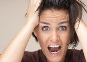 Женская истерика